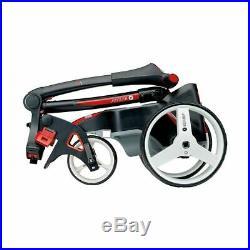 Motocaddy M1 18 Hole Lithium Golf Trolley Black +free Golf Bag & Accessory