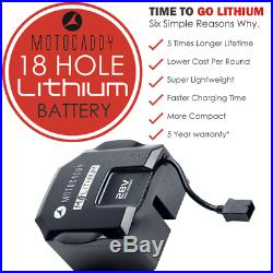 Motocaddy M1 18 Hole Lithium Golf Trolley White +free £89.99 Accessory Pack