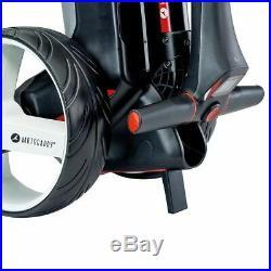 Motocaddy M1 36 Hole Lithium Golf Trolley Black +free £89.99 Accessory Pack