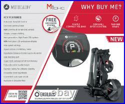 Motocaddy M1 DHC Electric Golf Trolley Standard Lithium (18 Hole) NEW! 2021