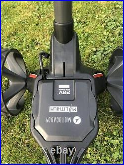 Motocaddy M1 DHC Electric Golf Trolley Ultra Lithium 28V Battery