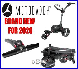 Motocaddy M1 DHC Electric Trolley with Lithium Battery END OF JULY DELIVERY