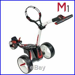 Motocaddy M1 Electric Golf Trolley Alpine Standard Lithium +FREE ACCESSORY PACK
