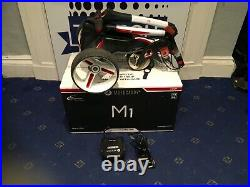 Motocaddy M1 Electric Golf Trolley White with Lithium Battery & Charger