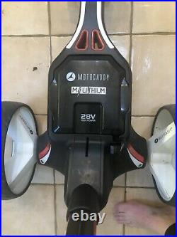 Motocaddy M1 Electric Golf Trolley With Lithium Battery And Charger