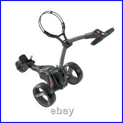 Motocaddy M1 Electric Lithium Golf Trolley Graphite 18 Hole Battery + Umbrell