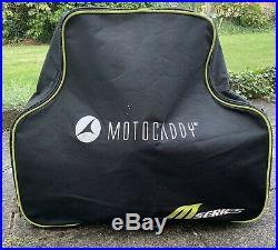 Motocaddy M1 Golf Trolley 36-Hole Lithium Battery (inc Cover & Umbrella Holder)