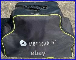 Motocaddy M1 Pro 18 Hole Lithium Battery Electric Golf Trolley + Carry Bag