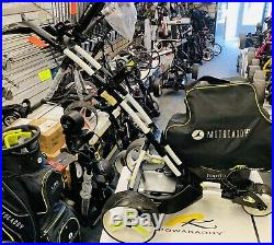 Motocaddy M1 Pro Alpine Lithium Electric Golf Trolley With Carry Case 24hr Deliv