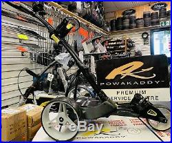 Motocaddy M1 Pro Black Lithium Electric Golf Trolley New Wheels 24hr Delivery