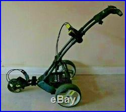 Motocaddy M1 Pro DHC Lithium Electric Golf Trolley + Seat & Accessories FREE P&P