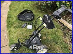 Motocaddy M1 Pro Electric Golf Trolley 18 Hole Lithium Battery & Charger + More