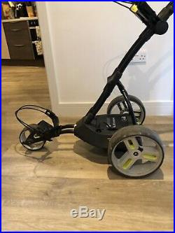 Motocaddy M1 Pro Electric Golf Trolley 18 Hole Lithium Battery Usb Charger +more