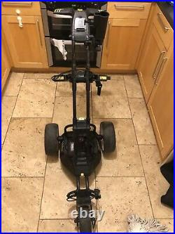 Motocaddy M1 Pro Electric Golf Trolley, 18 Hole Lithium Battery, travel bag