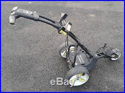 Motocaddy M1 Pro Electric Golf Trolley With 18 Hole Lithium Battery And Charger