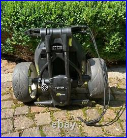 Motocaddy M1 Pro Electric Trolley Black, Extended Lithium Battery, Winter Wheels