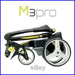Motocaddy M3 36 Hole LITHIUM Pro Electric Trolley + FREE Accessory Station