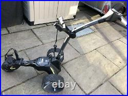 Motocaddy M3 36 Holes Gps DHC Lithium Battery Trolley Graphite