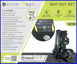Motocaddy M3 GPS DHC Electric Golf Trolley Ultra Lithium 36 Hole NEW! 2021
