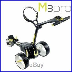 Motocaddy M3 Pro Black 18 Hole Standard Lithium Electric Golf Trolley NEW! 2019
