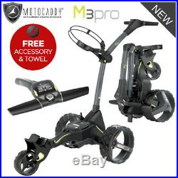 Motocaddy M3 Pro Dhc Ultra Lithium Electric Golf Trolley Rrp £749.00