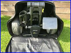 Motocaddy M3 Pro Electric Golf Trolley Lithium Battery, Cart Bag, Case & Extras