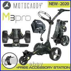 Motocaddy M3 Pro Electric Golf Trolley Ultra 36 Hole Lithium Battery NEW! 2020