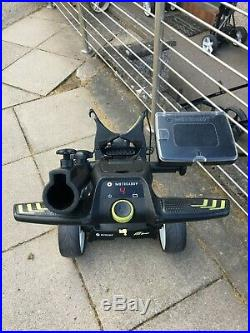Motocaddy M3 Pro Electric Golf Trolley With 18 Hole Lithium Battery And Charger