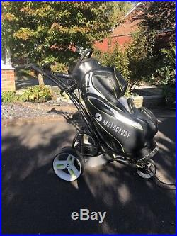 Motocaddy M3 Pro Electric Golf Trolley with 36 Hole Lithium Battery. Serviced