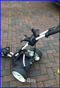 Motocaddy M3 Pro Electric Golf Trolley with 36 Hole Lithium Battery. Very Good