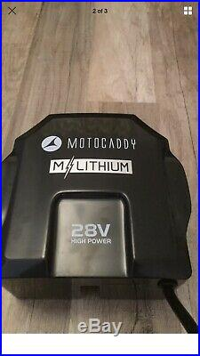 Motocaddy M3 Pro Electric Trolley With 18 Hole Lithium Battery
