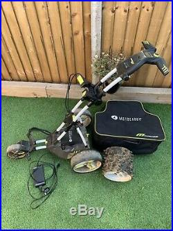 Motocaddy M3 Pro electric golf trolley lithium Plus Winter Wheels And Bag