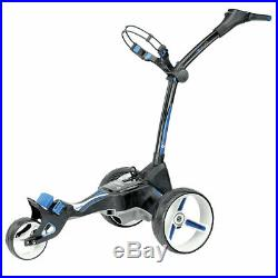 Motocaddy M5 CONNECT Standard Lithium Folding GPS Golf Trolley Black + FREE PACK