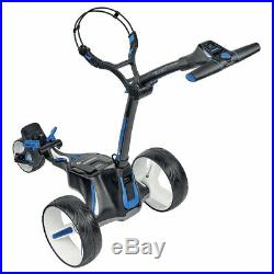 Motocaddy M5 CONNECT Ultra Lithium Folding GPS Golf Trolley Black + FREE PACK