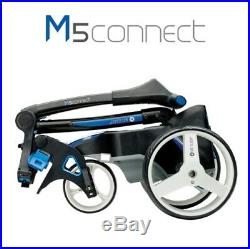 Motocaddy M5 Connect 36 Hole Lithium Trolley + FREE Accessory Station + FREE BAG