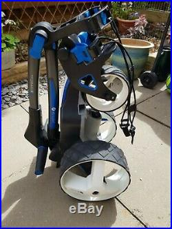 Motocaddy M5 Connect Dhc Electric Trolley 28v 18 hole Lithium Battery