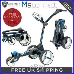 Motocaddy M5 Connect Electric Golf Trolley 2020 Model + Free Gift + Towel