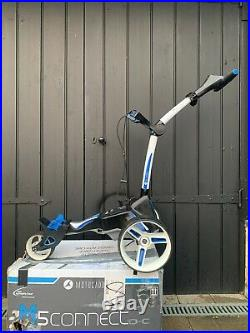Motocaddy M5 Connect Electric Golf Trolley With Lithium Battery