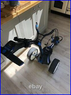 Motocaddy M5 Connect Electric Golf Trolley with Lithium Battery and Charger