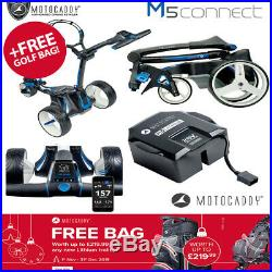 Motocaddy M5 GPS Connect Black 18 Hole Lithium Electric Trolley NEW! 2019