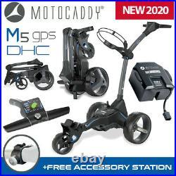 Motocaddy M5 GPS DHC Electric Golf Trolley 36 Hole Ultra Lithium NEW! 2020