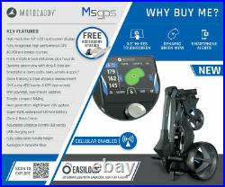 Motocaddy M5 GPS Electric Golf Trolley Standard Lithium 18 Hole NEW! 2021