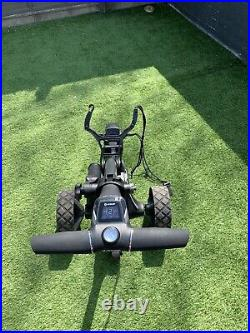 Motocaddy M7 Remote Electric Trolley With 36 Hole Lithium Battery Plus Extras