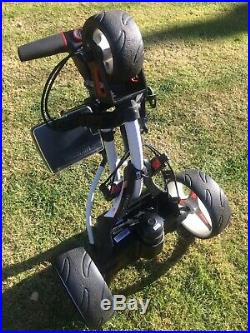 Motocaddy S1 (ALPINE) Golf Trolley, Lithium Battery, Charger & Accessories