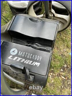 Motocaddy S1 Digital Electric Golf Trolley Lithium Battery Winter Wheels