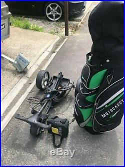 Motocaddy S1 Digital Golf Trolley With Lithium Lite Power Battery PLUS cart bag