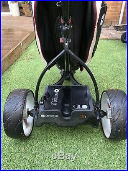 Motocaddy S1 Electric Golf Trolley, 18 Hole Lithium Battery And Pro Series Bag