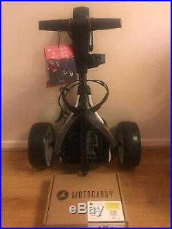 Motocaddy S1 Electric Golf Trolley 18 Hole Lithium Battery & Charger