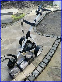 Motocaddy S1 Electric Golf Trolley Lithium 36 Hole Battery Charger And Spare