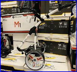 Motocaddy S1 Electric Golf Trolley Lithium Battery- New Wheels 24 Hour Delivery